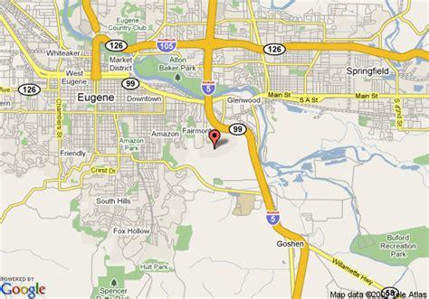 map of oregon eugene comfort suites eugene eugene deals see hotel photos