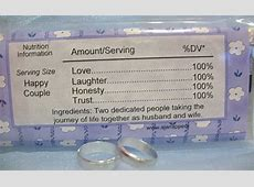 Wedding Candy Bar Sayings
