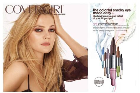 Drew Barrymores Fusion by Drew Barrymore Covergirl Summer 2010 Ad Caign Sassi