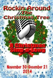 Rockin around the christmas tree at live theatre workshop