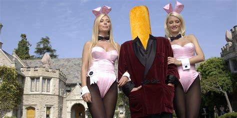 Hugh Hefner Shares His Fashion Tips by Hugh Hefner Sells Mansion To Twinkie Billionaire