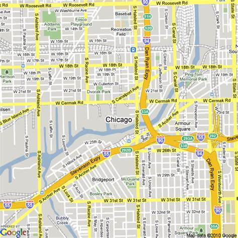 chicago hotel map map of chicago united states hotels accommodation