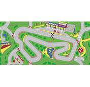 Racetrack Play Rug Rectangle 36 X 80  LC205 Learning