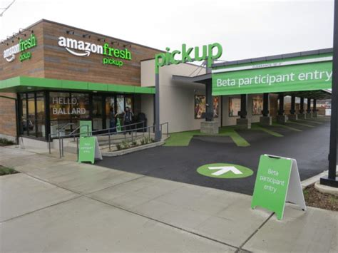 amazon fresh amazon finally unveils grocery pickup service but it s