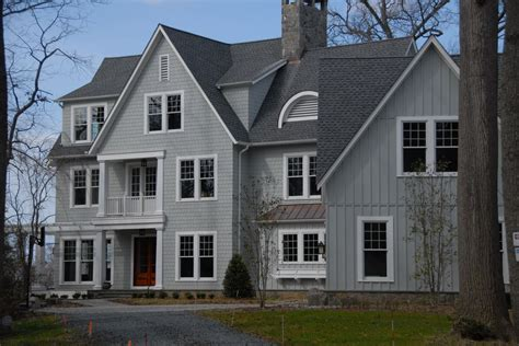 timberline pewter grey shingle with white siding maryland siding contractor annapolis md roofing