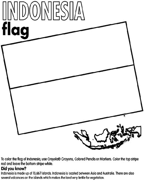 indonesian animals coloring pages indonesia coloring page crayola com