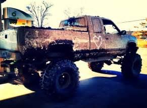 Big Truck Tires Big Trucks Big Tires Kickin Up Mud Big Trucks Mud