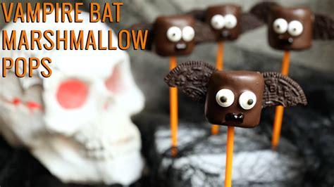 vampire bat marshmallow pops recipe