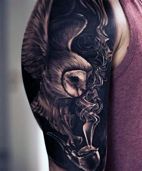 crazy tattoos for men 361 best all things owl images on owl tattoos