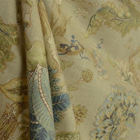 fabric home decor fabric jacobean floral fabric 1 by florabunda sea glass floral jacobean fabric traditional