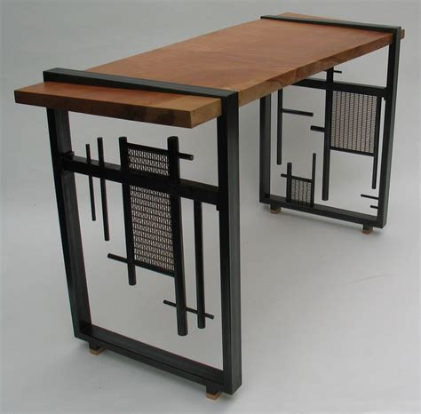 Metal Furniture Dk Works Custom Furniture Metalwork Furniture
