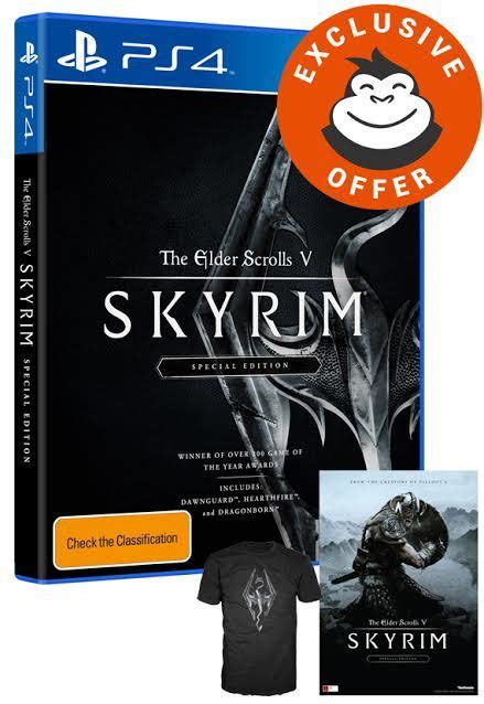 The Elder Scrolls V Skyrim Special Edition Pre Order the elder scrolls v skyrim special edition ps4 in stock buy now at mighty ape australia