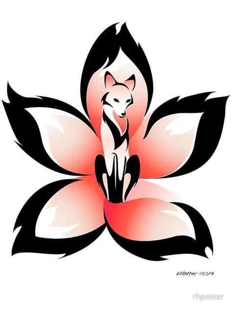 sakura kitsune pictures to pin on pinterest tattooskid