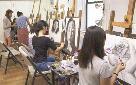 Painting Classes Nyc by Portfolio Prep Class For Major Schools Arcracrylic