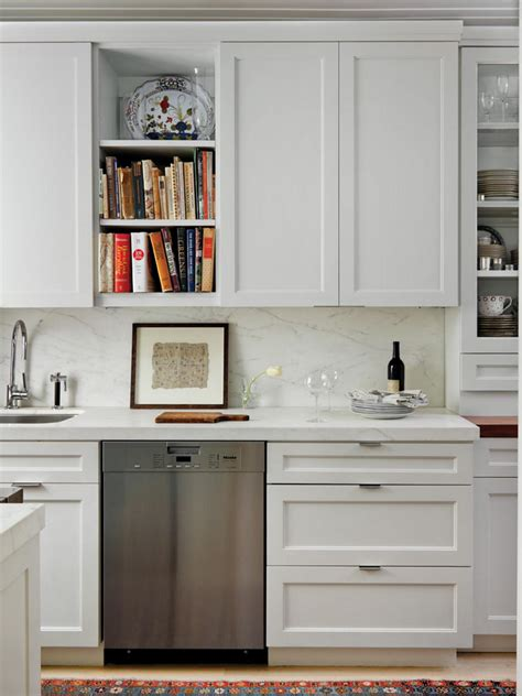 white modern kitchen cabinets photo page hgtv