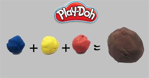 Brown Play mixing brown color playdoh how to mix playdough colors