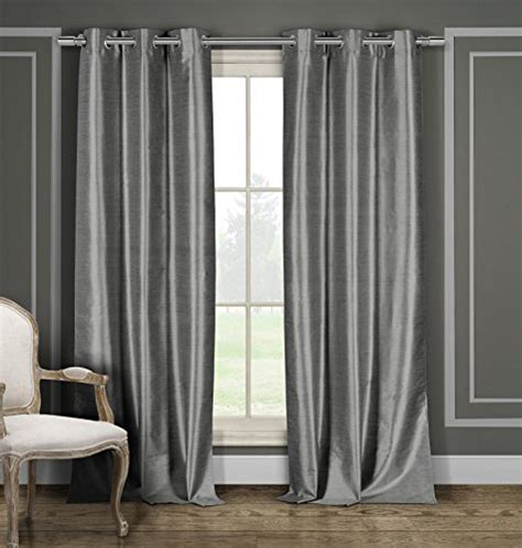 heavy silk curtains heavy blackout curtain pair panel window draperies faux