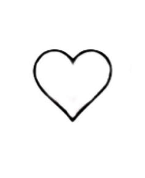 small heart outline tattoo 1000 ideas about outline on