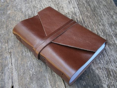 How To Make A Handmade Leather Journal - times leather journal pocket book lined or plain paper