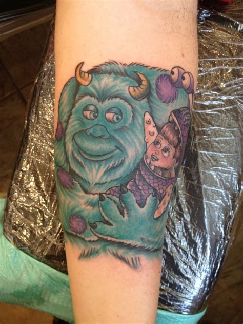 monsters inc tattoo the most adorable monsters inc you ll see today