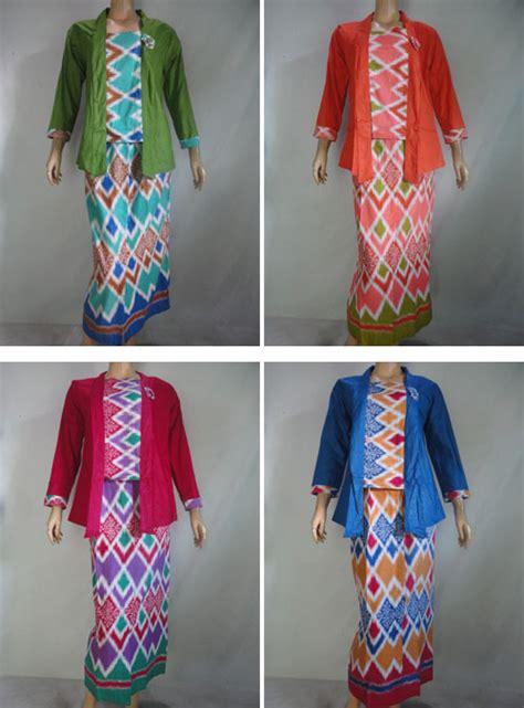 Stelan Blus Kalongrok Tali Serut 12 stelan pramugari rang rang pusat grosir batik toko pakaian jual grosir murah