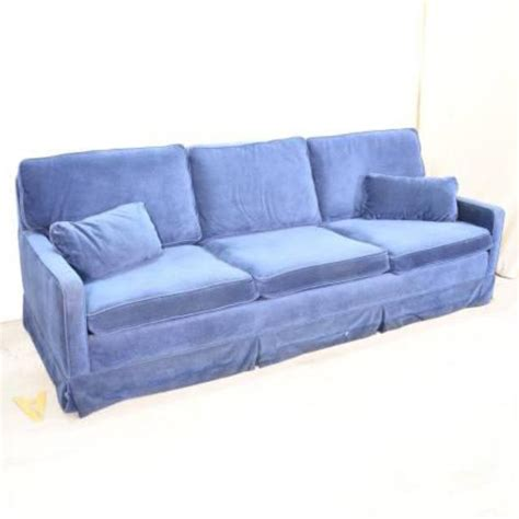 Retro Electric Blue Sofa Sleeper Loveseat Vintage Retro Sleeper Sofa