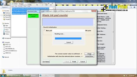 resetter epson l1300 adjustment program download tutorial how to reset adjustment resetter epson