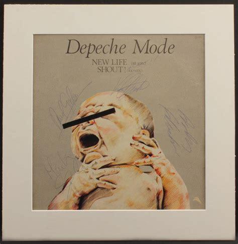 depeche mode shout lot detail depeche mode quot new life shout quot signed album