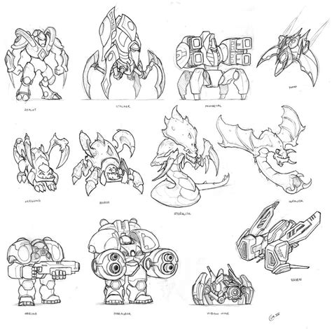 coloring pages starcraft coloring pages