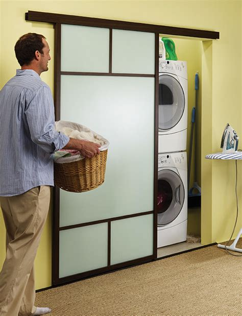 laundry room sliding doors wall slides