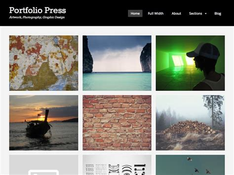 30 best free portfolio wordpress themes 2018 athemes