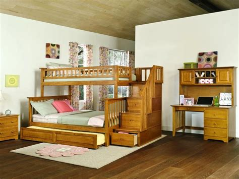 bunk bed with desk bunk beds with stairs and desk l shaped bunk bed