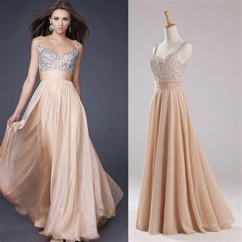 vestidos de gala largos verdes encaje pedreria elegantes juveniles cheap 218 ltimos dise 241 os prom largo de la gasa barato vestido