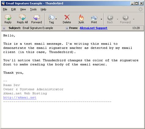 how to layout an email signature plain text e mail signatures raam dev