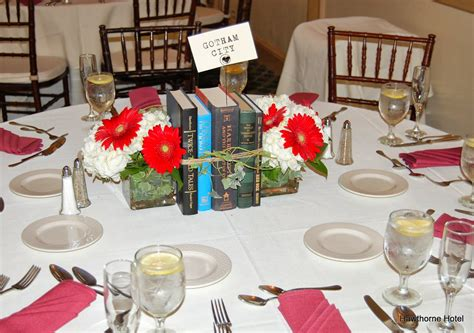 weddings at the hawthorne hotel literary book themed wedding