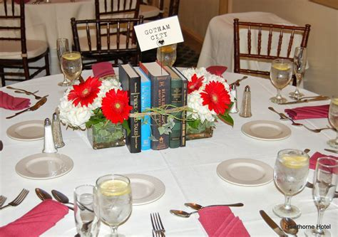 Weddings at the Hawthorne Hotel: Literary/Book Themed Wedding