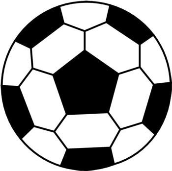 how to draw a soccer ball clipart best