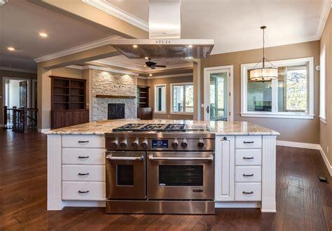 center island kitchen new center island kitchen design in castle rock