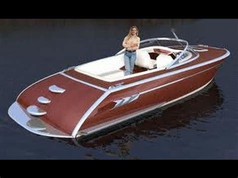 wooden boat boatplanstv youtube