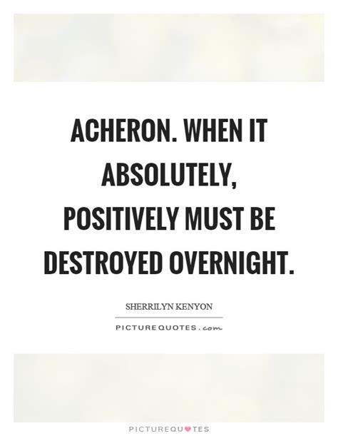 Funny Acheron Quotes