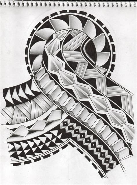 samoan tattoo design 2 by koxnas on deviantart