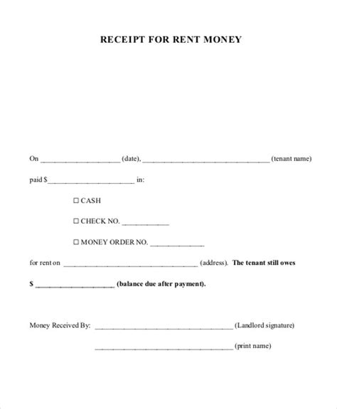 Sle Acknowledgement Letter For Land Payment Received Payment Receipt Format 7 Exles In Word Pdf