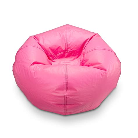 Bean Bag Chair Kmart by Pink Vinyl Bean Bag Chair Find Chic Seating For Your