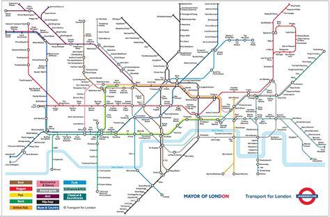 underground map of geofftech silly maps
