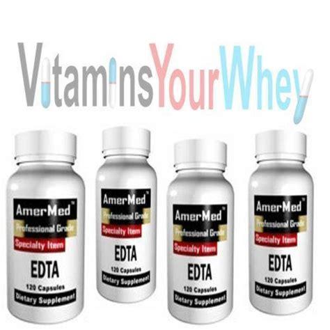 Edta For Heavy Metal Detox by Edta Chelation Dietary Supplements Nutrition Ebay