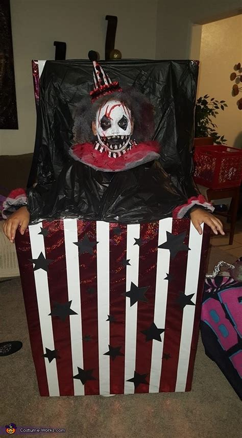 creepy jack   box costume photo