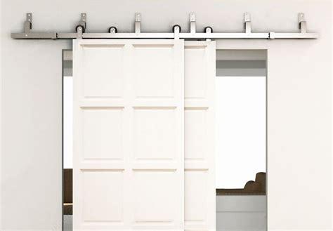 6ft bypass schuifdeuren schuur houten deur hardware