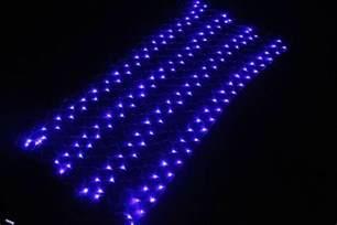 hot sale 12v christmas lights led strings decorative net