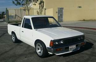 Truck Bed Bench 1986 Nissan Datsun 720 Pick Up Truck For Sale