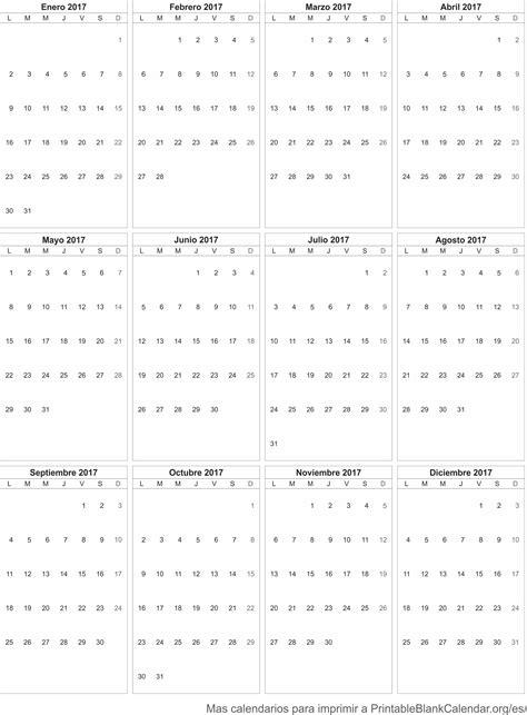 Calendario 2017 Para 2017 Calendario Para Imprimir Calendarios Para Imprimir